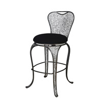 Varaluz 240A08SL Flow Steel Bar Stool Home Decor, Varaluz Casa