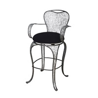 Varaluz Flow Bar Stool in Steel 240A09SL