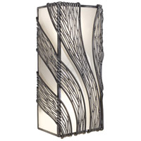 Varaluz Flow 2 Light Wall Sconce in Steel 240W02SL