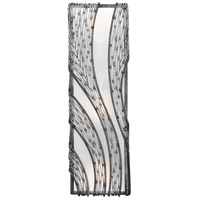 Varaluz Flow 3 Light Wall Sconce in Steel 240W03SL