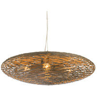 Varaluz 241C03HO Flow 3 Light 18 inch Hammered Ore Pendant Ceiling Light