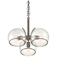 Watson 3 Light 16 inch Metallic Bronze Chandelier Ceiling Light