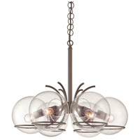 Watson 6 Light 21 inch Metallic Bronze Chandelier Ceiling Light