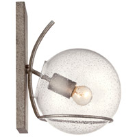 Varaluz 243K01SA Watson 1 Light 8 inch Silver Age Wall Sconce Wall Light