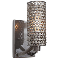 Casablanca 1 Light 5 inch Steel Vanity Wall Light
