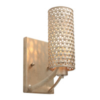 Casablanca 1 Light 5 inch Zen Gold Vanity Wall Light