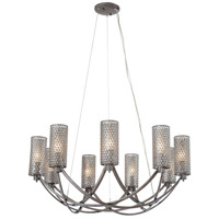 Casablanca 9 Light 32 inch Steel Chandelier Ceiling Light