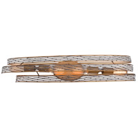 Flow 4 Light 29 inch Hammered Ore Vanity Wall Light