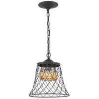 Madelyn 1 Light 11 inch Forged Iron Mini Pendant Ceiling Light