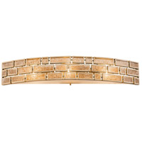 Harlowe 3 Light 33 inch Havana Gold Bath Vanity Wall Light