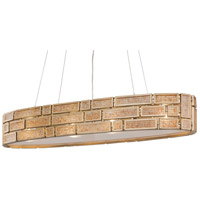 Varaluz 255N06HG Harlowe 4 Light 35 inch Havana Gold Linear Pendant Ceiling Light