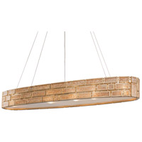 Varaluz 255N08HG Harlowe 6 Light 48 inch Havana Gold Linear Pendant Ceiling Light