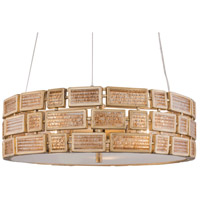 Varaluz 255P04HG Harlowe 3 Light 18 inch Havana Gold Pendant Ceiling Light
