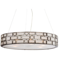Varaluz Harlowe 6 Light Pendant in New Bronze 255P06NB