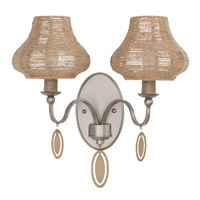 Haven 2 Light 15 inch New Bronze Vanity Wall Light