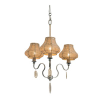 Haven 3 Light 20 inch New Bronze Chandelier Ceiling Light