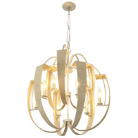 Tinali 9 Light 25 inch Gold Dust Chandelier Ceiling Light
