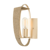 Tinali 1 Light 6 inch Gold Dust Wall Sconce Wall Light