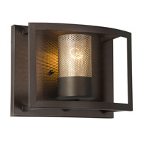 Jackson 1 Light 10 inch Rustic Bronze Vanity Wall Sconce Wall Light