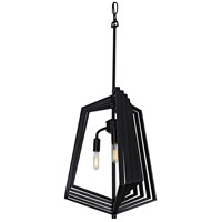 Gymnast 3 Light 18 inch Black Foyer Pendant Ceiling Light
