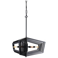 Gymnast 6 Light 26 inch Black Pendant Ceiling Light