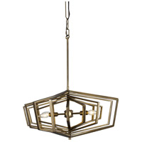 Varaluz 262P06HG Gymnast 6 Light 26 inch Havana Gold Pendant Ceiling Light