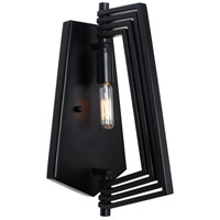 Gymnast 1 Light 7 inch Black Wall Sconce Wall Light