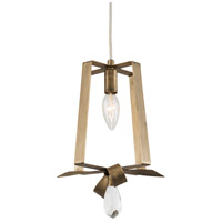 Varaluz 263M01THG Posh 1 Light 7 inch Havana Gold Mini Pendant Ceiling Light