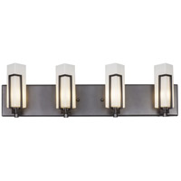 Varaluz 267B04RB Highlander 4 Light 26 inch Rustic Bronze ADA Wall Sconce Wall Light