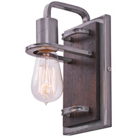 Varaluz 268B01SL Lofty 1 Light 5 inch Steel Vanity Wall Light