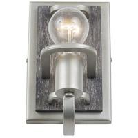 Varaluz 268B01SOG Lofty 1 Light 5 inch Silverado and Grey Bath Vanity Wall Light
