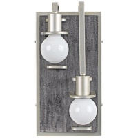 Gray Wood Wall Sconces