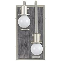 Varaluz 268W02RSOG Lofty 2 Light 8 inch Silverado and Gray Wall Sconce Wall Light