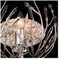Bask 1 Light 10 inch Gold Dust Vanity Wall Light, Premium Pre-Installed Crystal