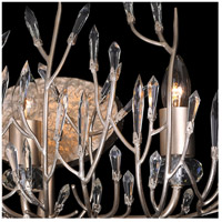 Bask 3 Light 24 inch Gold Dust Vanity Wall Light, Premium Pre-Installed Crystal