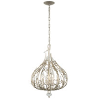 Bask 3 Light 16 inch Gold Dust Mini Pendant Ceiling Light, Premium Pre-Installed Crystal