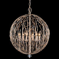 Bask 6 Light 24 inch Gold Dust Pendant Ceiling Light