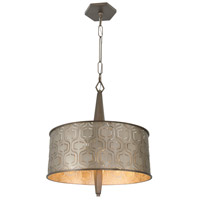 Iconic 19 inch Champagne Mist Pendant Ceiling Light