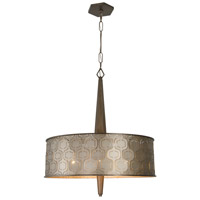 Iconic 25 inch Champagne Mist Pendant Ceiling Light