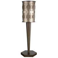 Iconic 25 inch 100 watt Champagne Mist Table Lamp Portable Light