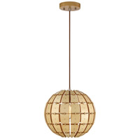 Wooda Coulda Shoulda 1 Light 12 inch Yellow Birch Pendant Ceiling Light, Yellow Birch Steam-Bent Plywood