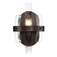 Carson 1 Light 7 inch Coffee Bronze Vanity Light Wall Light