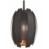 Sawyers Bar 1 Light 7 inch Two-Tone Copper Ore Mini Pendant Ceiling Light