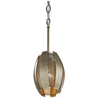 Varaluz 287M01HG Sawyers Bar 1 Light 7 inch Havana Gold Mini Pendant Ceiling Light