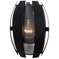 Varaluz 287W01BL Sawyers Bar 1 Light 7 inch Black Wall Sconce Wall Light