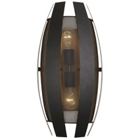 Varaluz 287W02CO Sawyers Bar 2 Light 10 inch Two-Tone Copper Ore Wall Sconce Wall Light