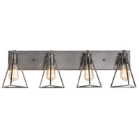 Trini 4 Light 31 inch Gunsmoke Vanity Light Wall Light