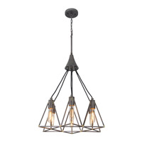 Trini 6 Light 21 inch Gunsmoke Pendant Ceiling Light