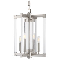 Halcyon 4 Light 15 inch Satin Nickel Chandelier Ceiling Light