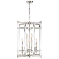 Halcyon 12 Light 24 inch Satin Nickel Chandelier Ceiling Light